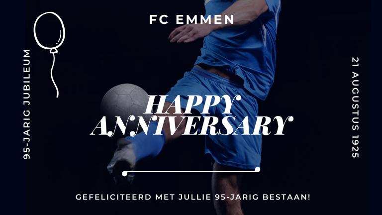 Jubileum FC Emmen