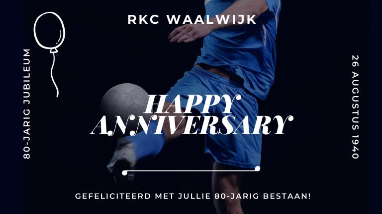 Jubileum RKC Waalwijk