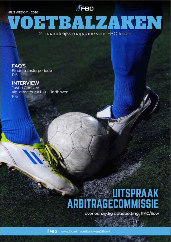 Voorzijde VoetbalZaken 5-2020